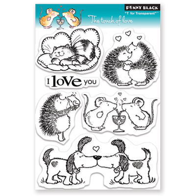 "Penny Black ""The Touch of Love Stamp Set"""