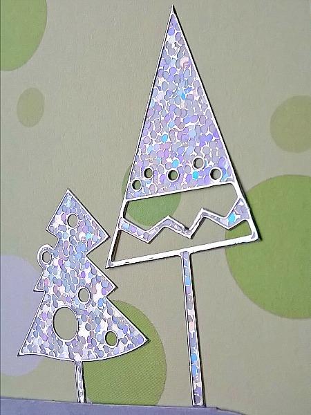 Farsi Silver Christmas Trees