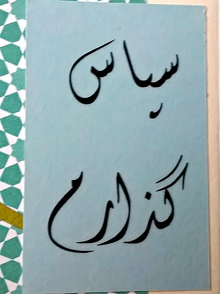 Farsi Thank You Cheery Card