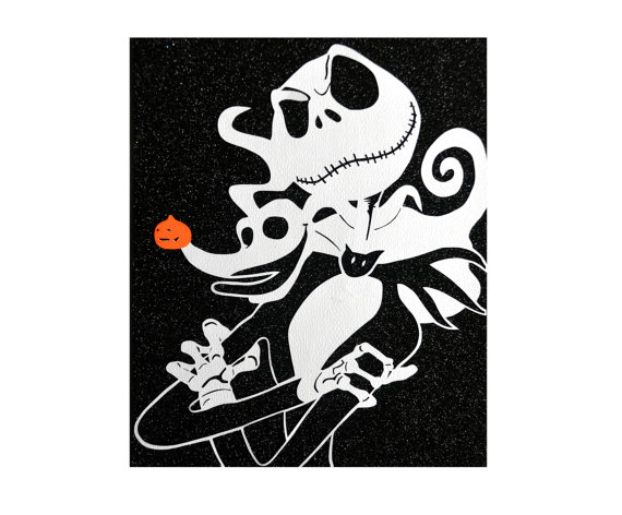 Nightmare Before Christmas Papercut Jack By