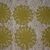 6 Chartreuse Green 8-Pointed Petal Floral Doilies #D-0056