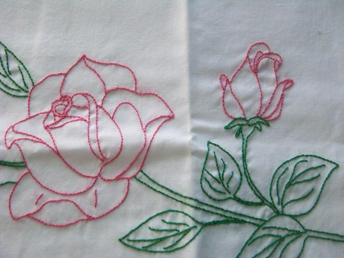 Rose Pillowcases