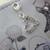Royal Diamante Heart Charm - Silver/Crystal