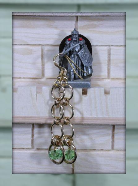 Maeve Chainmaille Earrings