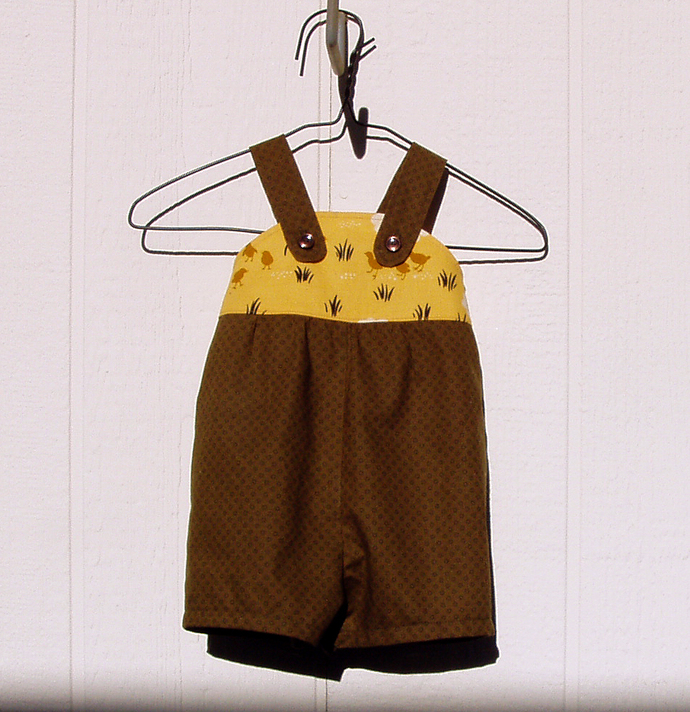 Baby Chicks Shortall, Size 6 Months