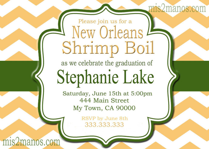Graduation Invitation diy Printable Party Invites Personalized Custom Orders