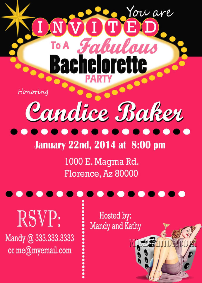 Casino Theme Party, Las Vegas Bachelorette Party   Mis2Manos