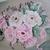 Floral Bouquet Painting, fine art, original, realism, botanical, garden, roses,