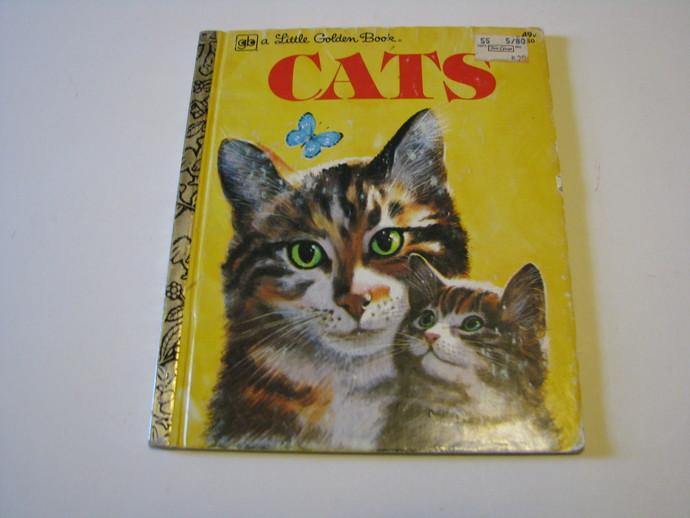 Vintage 1976  A Little Golden Book -CATS