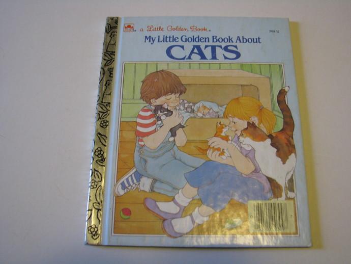 A Little Golden Book - My Little Golden Book About CATS