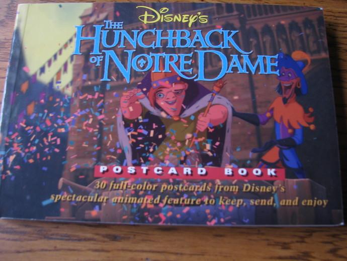 Disney's The Hunchback of Notre Dame -Postcard Book
