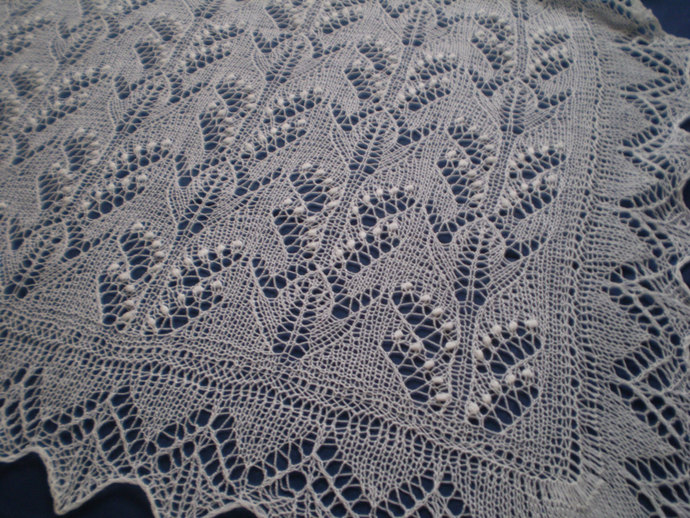 Knitted Estonian Lace Heirloom Haapsalu By Knitandlace On Zibbet