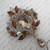Crystal Diamante Pin Brooch