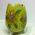Hand painted Yellow Planter/Vase