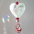 White Heart Sun Catcher