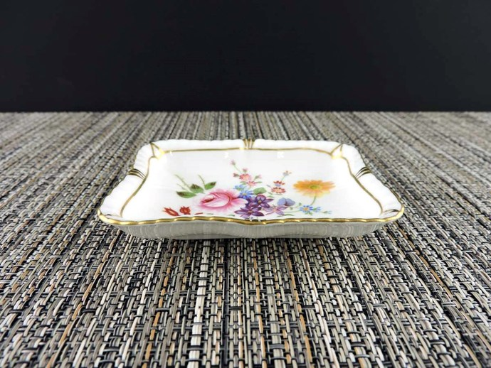 Vintage Royal Crown Derby Posies Butter or Pin Dish