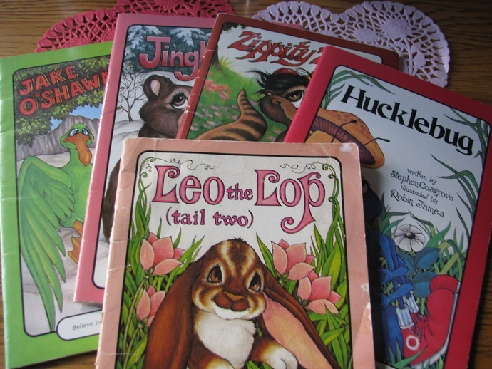 Collection 5 Serendipity books by Steven Cosgrove - illustrated Robin James: Leo