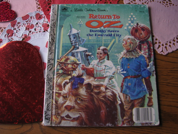 A Little Golden Book- Walt Disney Pictures- Return to Oz - Dorothy Saves the