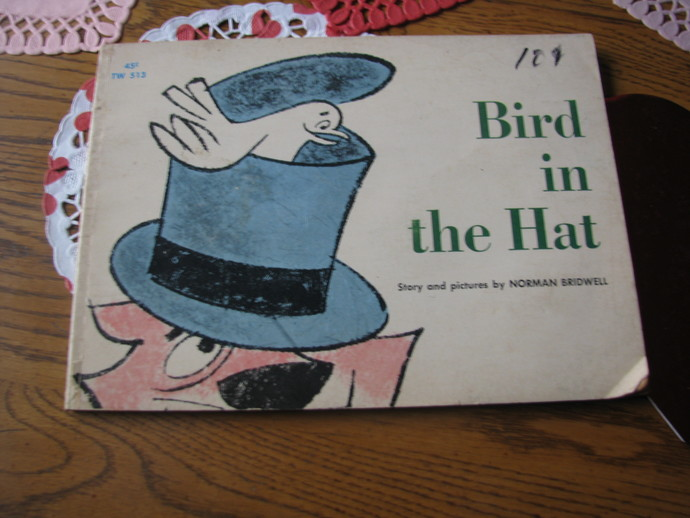 NORMAN BRIDWELL- The Cat and the Bird in the Hat 1964 Scholastic Book- 1st