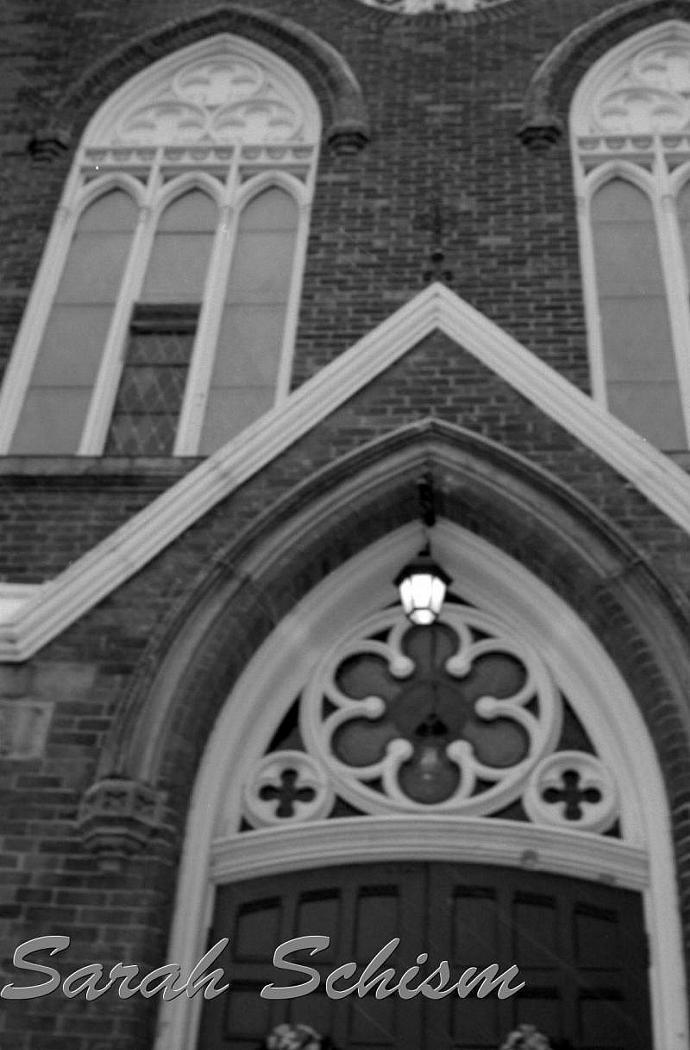 Church Door 5 x 7