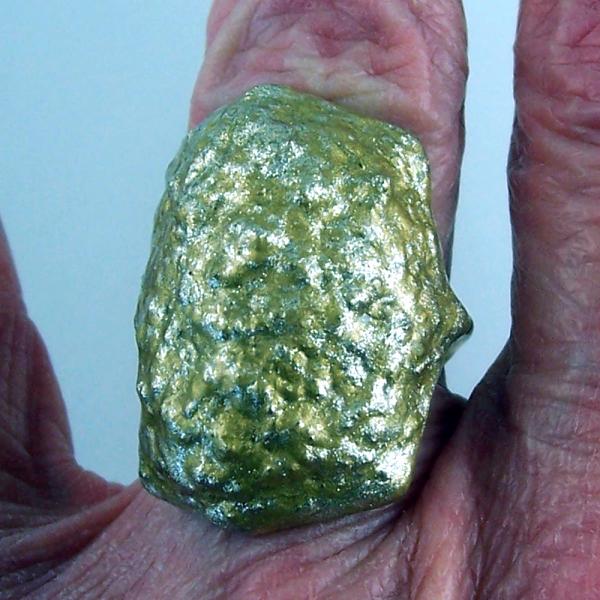Gold Tones Adjustable Ring
