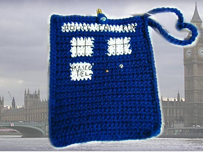 Dr. Who TARDIS Kindle 3 bag