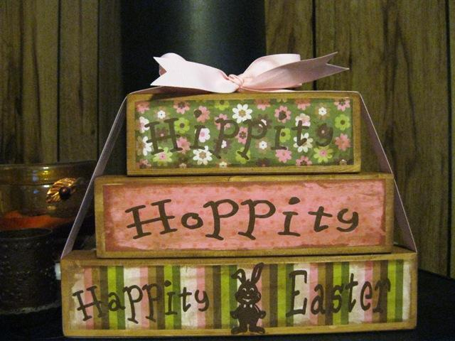 Hippity Hoppity Happity Easter Blocks Soooo Cute