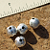 Silver Plated Ball Beads  8mm 10-1402