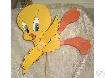 Whirligig, Wind Spinner  Handcrafted Tweety Bird