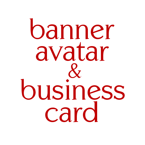 Banner Avatar and Business Card Package