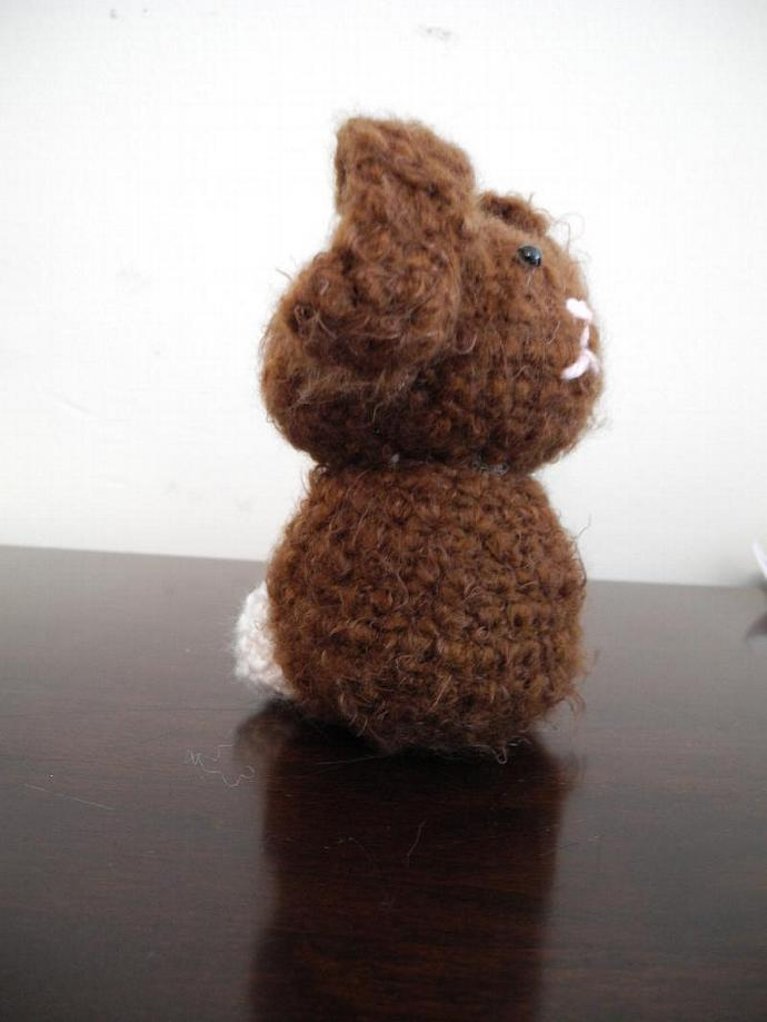 Floppy Ear Bunny in Wool and Mohair blend