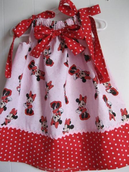 Minnie Mouse Pillowcase Dress 2T/3T show Ready To Ship