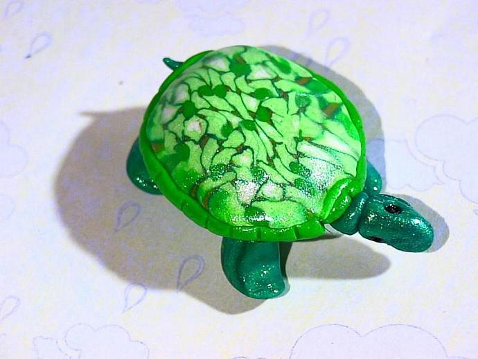 'Tuttle Turtle'-a ooak figuer