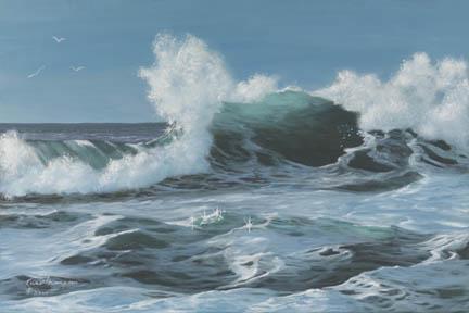 """Power Play"" Giclee Canvas Print by Carol Thompson"