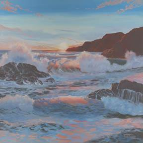 """Sunset Glow"" Giclee Canvas Print by Carol Thompson"