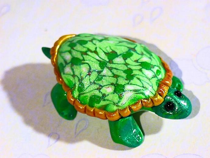 'Terry Turtle'-a ooak figuer