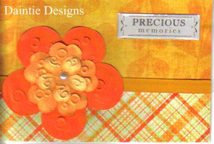 Precious Memories Greeting Card