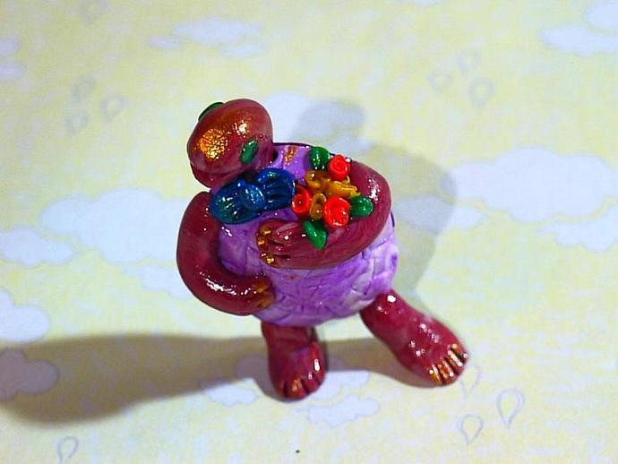 'Toddy Turtle'-a ooak figuer