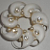 Vintage - Shell Pearl Brooch