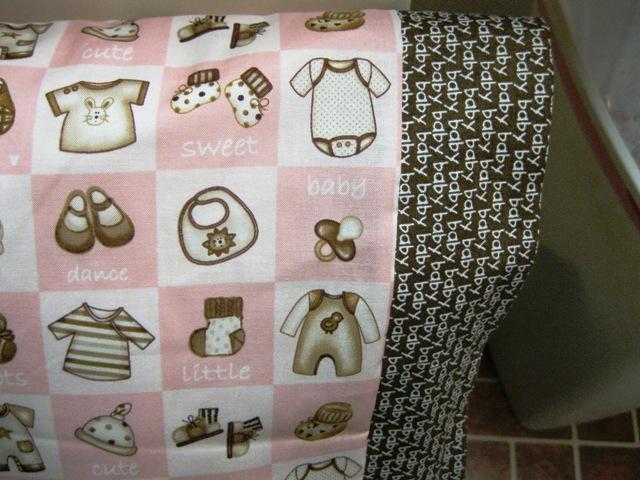NEW Baby Diva Pink and Brown MINI Pillowcase kids/travel pillowcase