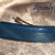Small Gray Blue Fused Glass Barrette 10S015
