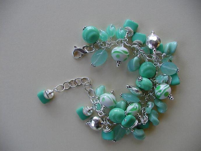 Handmade Misty Meadows Bracelet SOLD