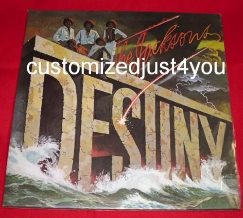 The Jacksons Destiny 78 Epic Records/CBS INC complete