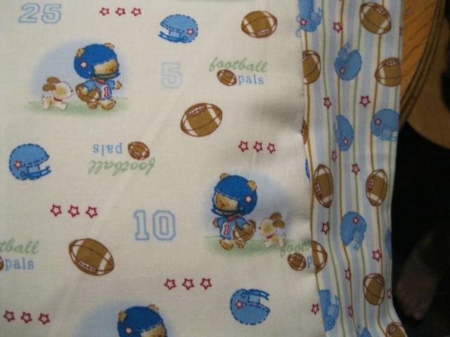 NEW My Little FOOTBALL Bear MINI Pillowcase kids/travel pillowcase