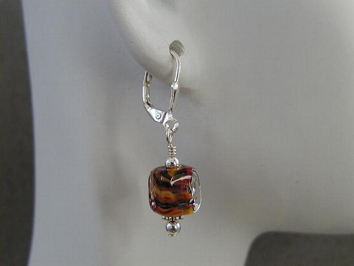 Handcrafted Glass Earrings