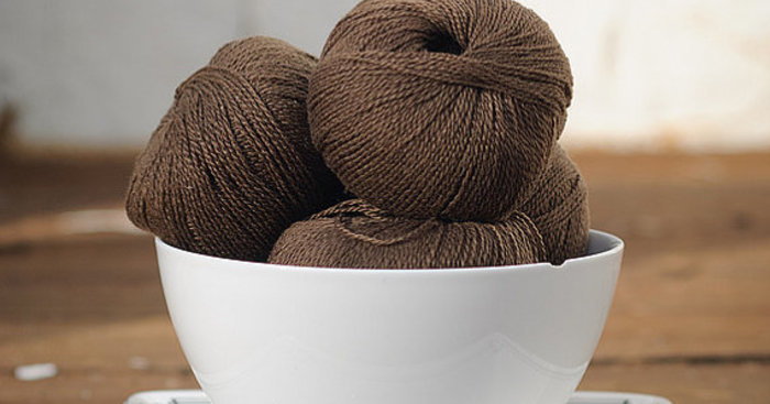 Original cashmere lace chocolate