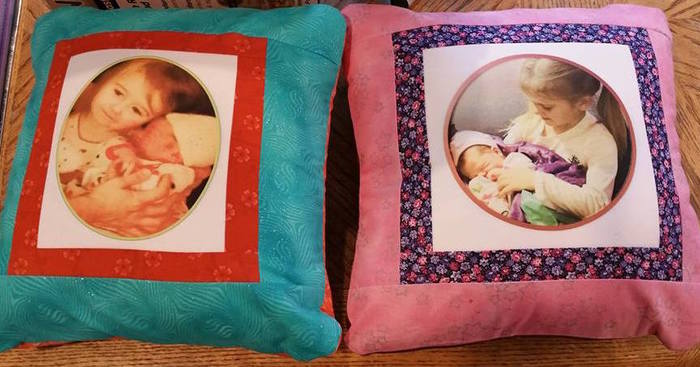 Original pillows4granddaughters