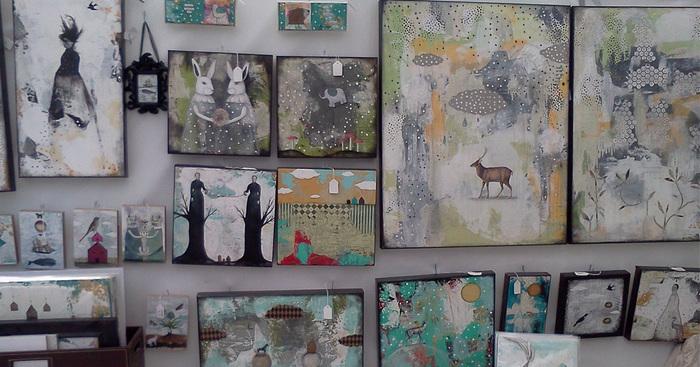 Original art show booth